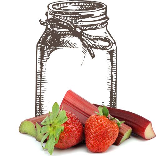 StrawberryRhubarbJar